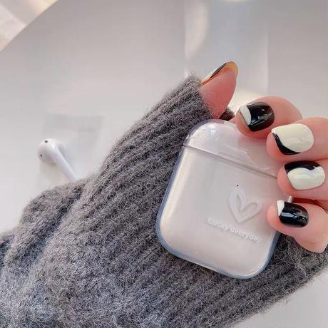 Lucky everyday heart airpods case
