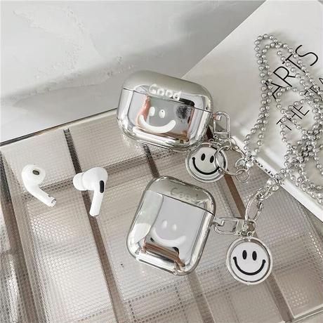 Good smile silver airpods case