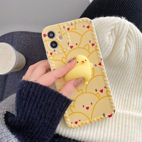 Piyo yellow iphone case