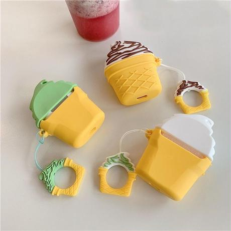 Ice cream airpods case