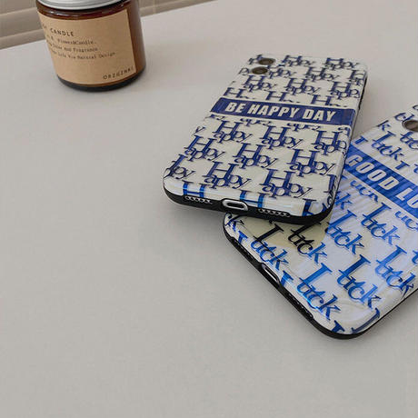 Good luck happy laser iphone case