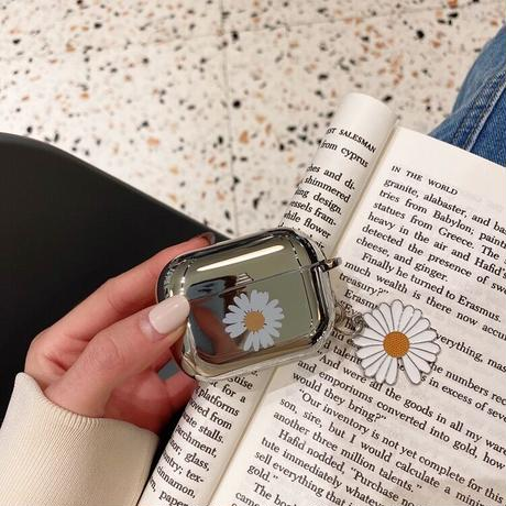 Daisy  silver airpods case