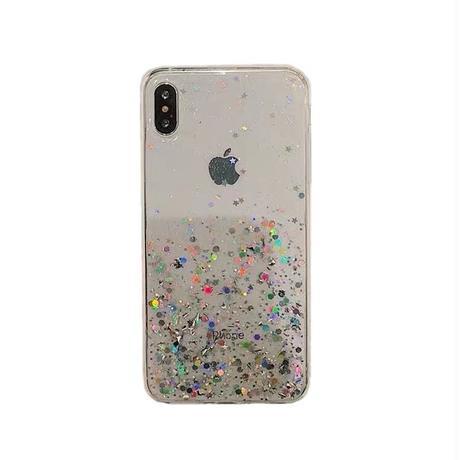 Bottom glitter iphone case