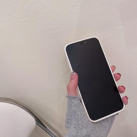 Big white flower grip iphone case
