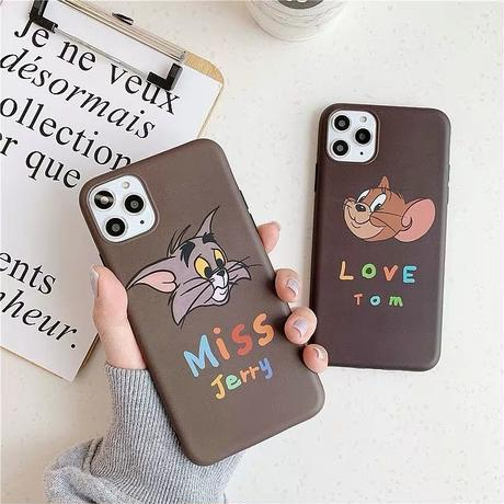 Mouse cat  color letter  iphone case