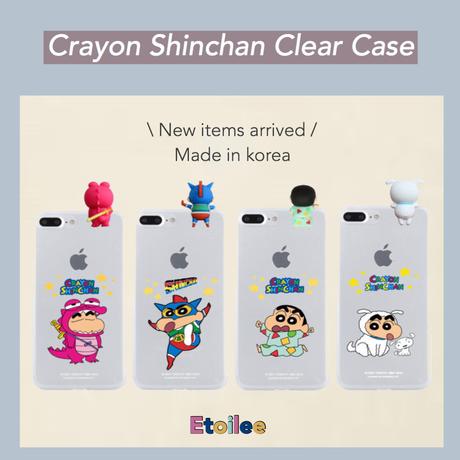 [正規品]クレヨンしんちゃん clear case