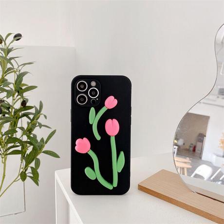 Big tulip iphone case