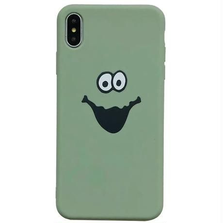 Monster  pink green iphone case