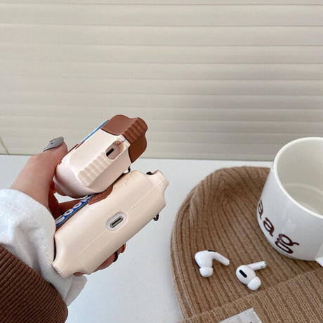 Cookie brown airpods case