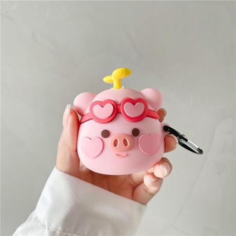 Pig propeller airpods case