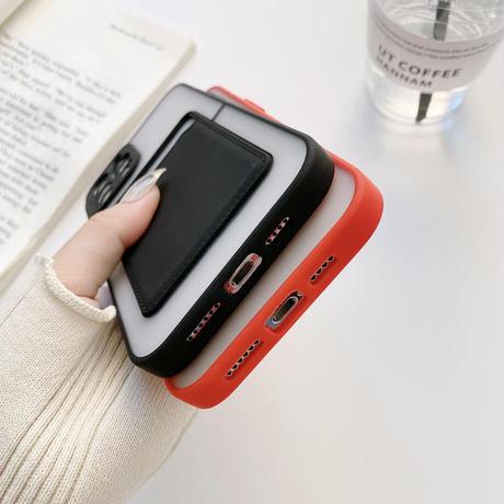 Pocket color side iphone case