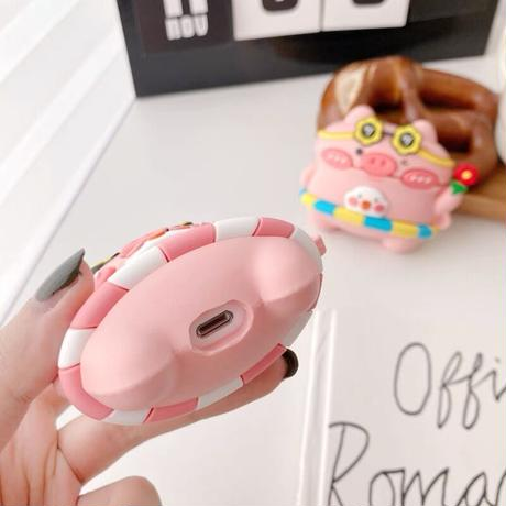Summer pig airpods case