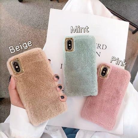Vintage color fur  iphone case