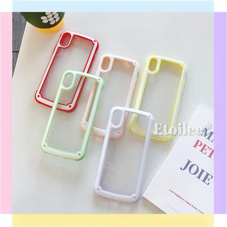 Macaron color side  iphone case