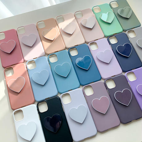 Big heart color chip case