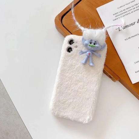Troll 5colors fur iphone case