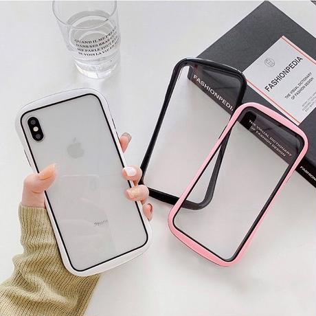 Autumn color side iphone case (Black, White, Pink)