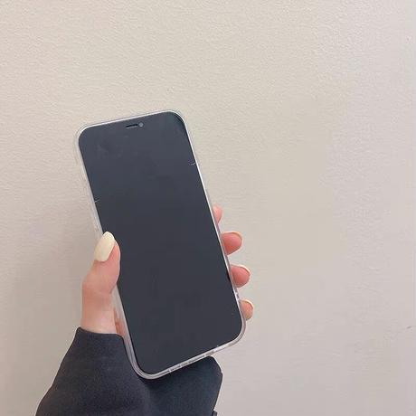 Laser clear pocket iphone case