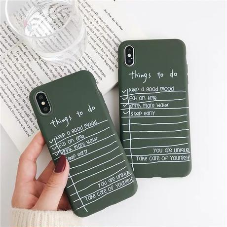 Things to do iphone case