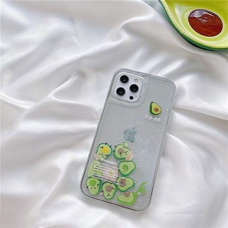 Avocado quicksand iphone case