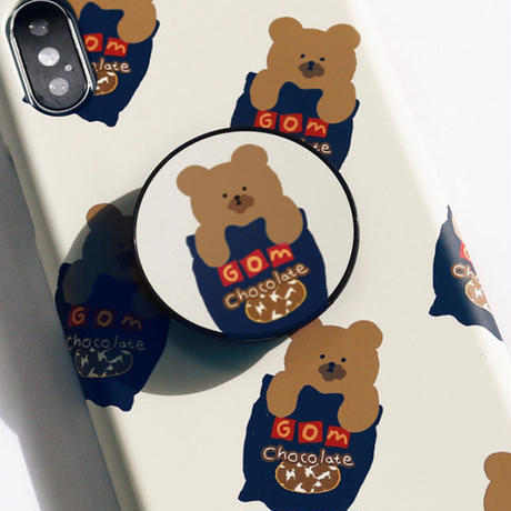 Choco cookie bear hard/clear case 529