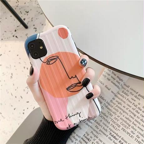 Color face iphone case