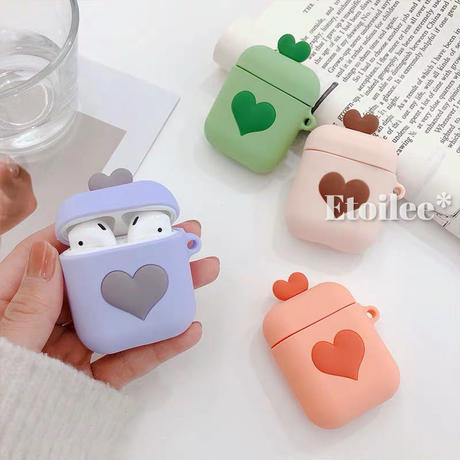 Airpods heart case