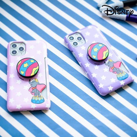 [Disney] Dumbo star grip shining card slimfit case