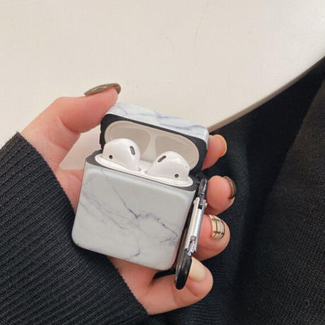 Marble simple airpods case