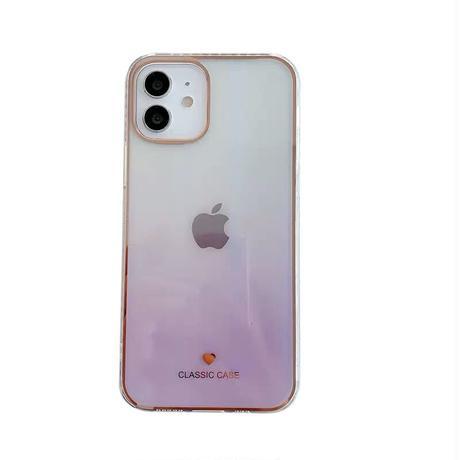 Color gradient laser iphone case