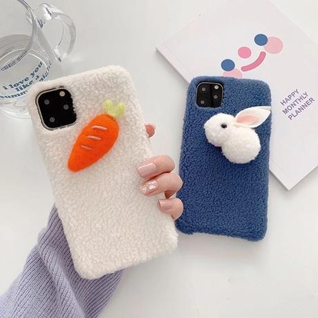 Rabbit carrot iphone case