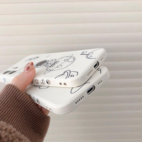 Astronaut drawing iphone case