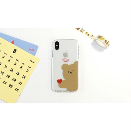 Love eat clear case 526