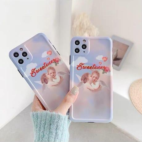 Pastel angel iphone case