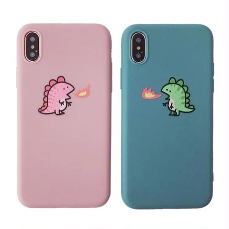 Dinosaur couple iphone case