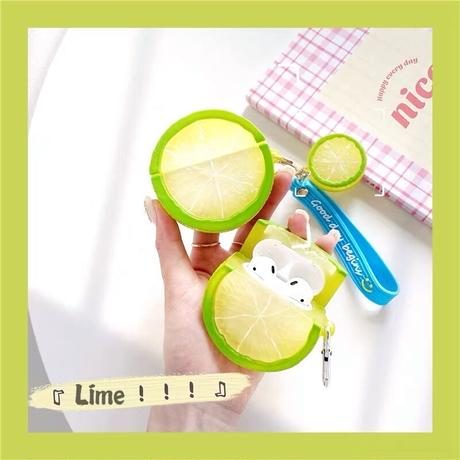 Lime airpods case