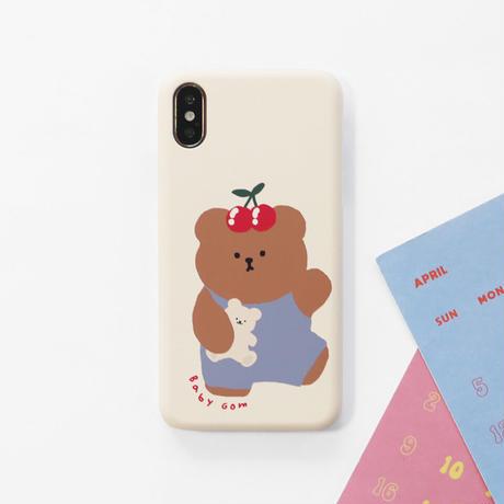 Baby bear hard/clear case 581