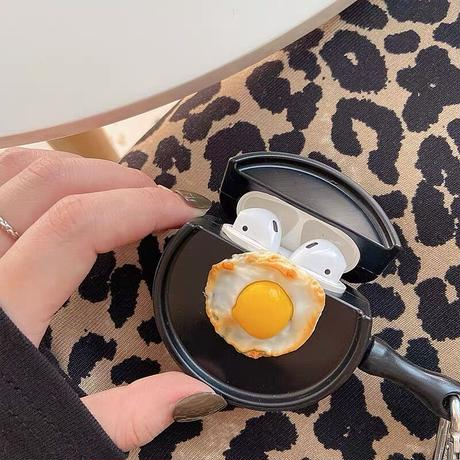 Fried eggs airpods case