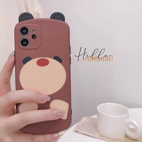 Big brown bear iphone case