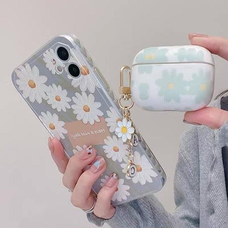 Daisy strap airpods case