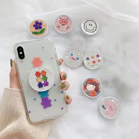 Shell Pop-up grip for phone