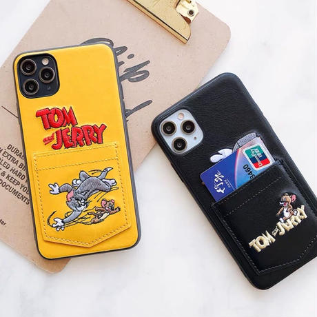 Mouse cat pocket iphone case