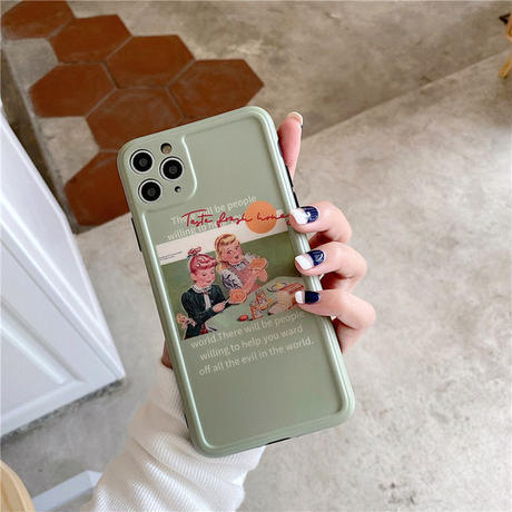 Toast girls iphone case