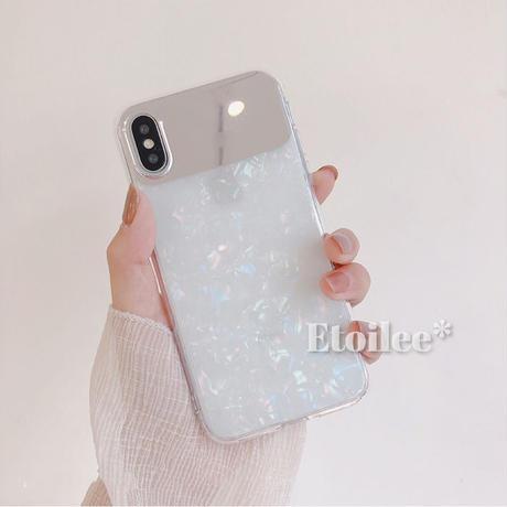 Aurora mirror iphone case