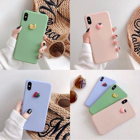 Fruits soft iphone case