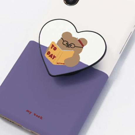 My book hard/clear case (Purpleblue) 578