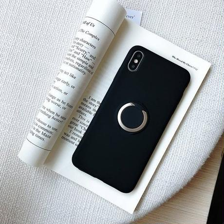 Simple ring iphone case