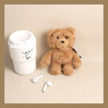 Big teddy bear airpods case
