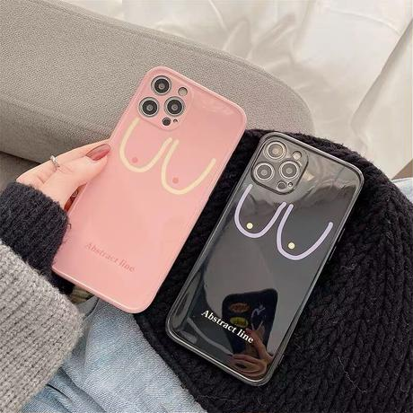 Boobs line iphone case