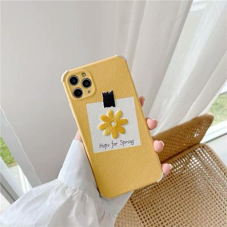 Hope for spring iphone case